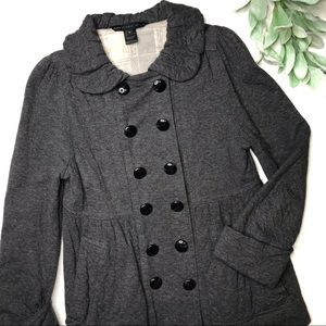 MARC BY MARC JACOBS | sz S Gray quilted Jacket